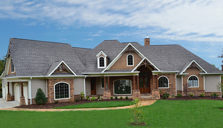 Mountain construction company custom home builders tennessee for Home builder company